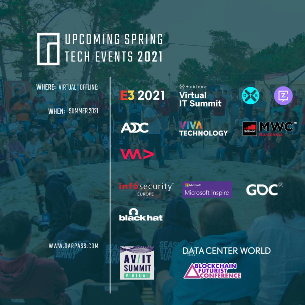 Summer Tech Events 2021