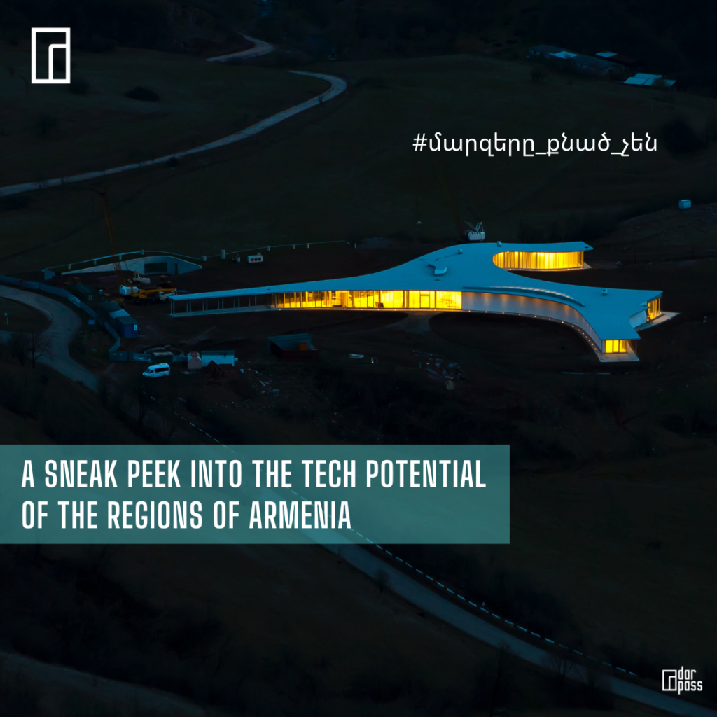 A Sneak Peek into the Tech Potential of the Regions of Armenia